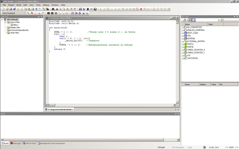 Работа с микроконтроллерами: прошивка программатором и