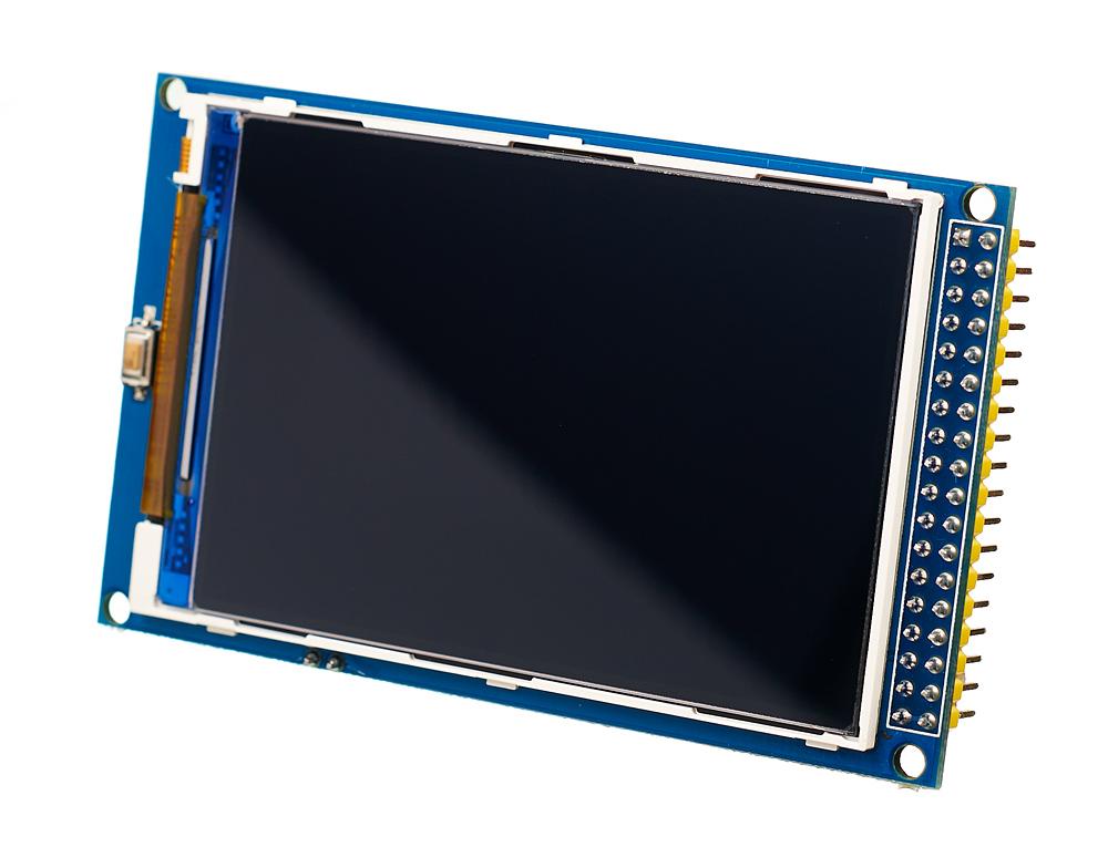 Цветной графический <b>TFT</b>-экран 480×320 [Амперка / Вики]
