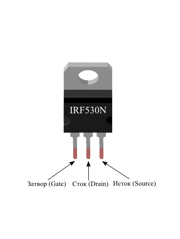 В данной схеме транзистор
