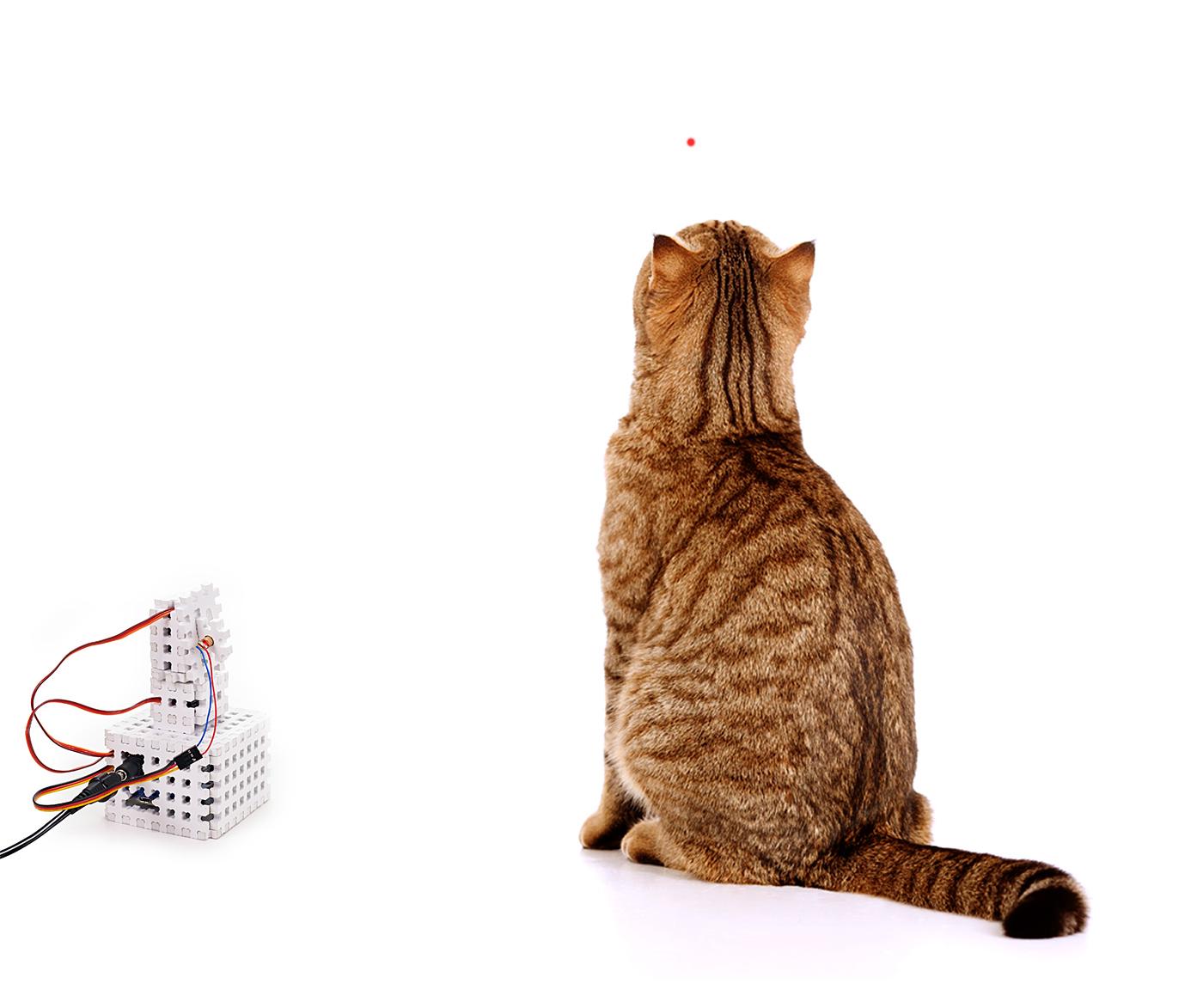 Игрушки для ленивых кошек